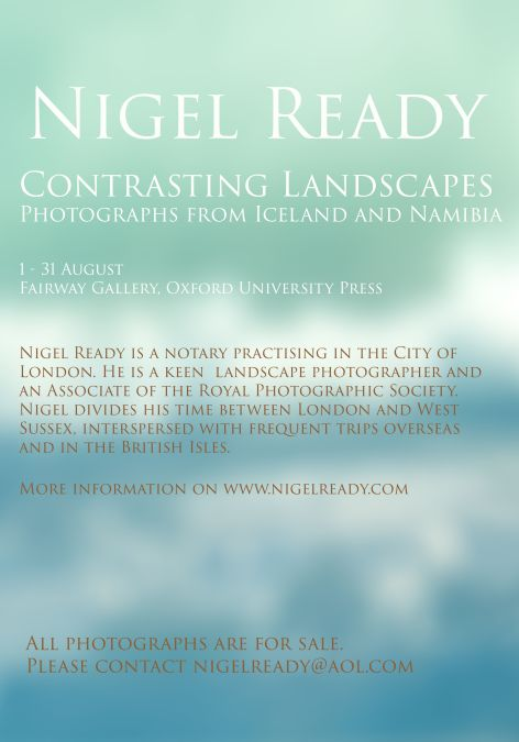 Contrasting Landscapes by Nigel Ready