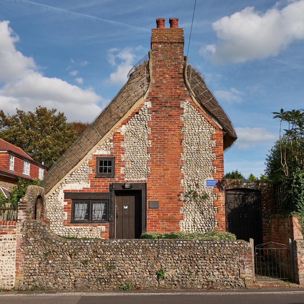 William Blake's Cottage, Felpham. West Sussex