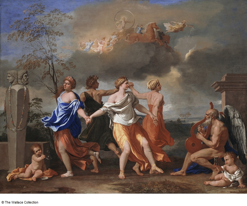 A Dance to the Music of Time, Nicolas Poussin (Wallace Collection, London)
